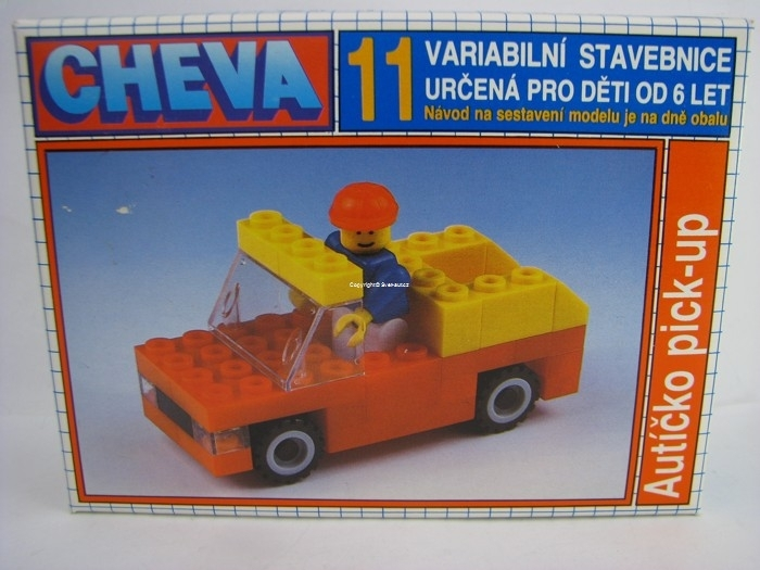 Cheva 11 autíčko pick-up